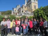 Яркие и радостные впечатления у коллектива оставила поездка в Массандровский дворец и Театр морских животных